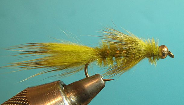 Glåma Bugger - Try this one when  it is almost dark on shallow river stretches.