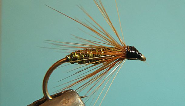 Glåma Spesial - Original Glomma  wet fly pattern. Often used by local anglers.